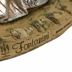 Roi Mage blanc crèche 180 cm résine Fontanini s6