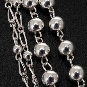 Rosario argento 925 grano 6 e 3 mm s2