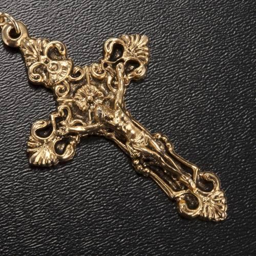 Rosario Ghirelli dorato Nostra Signora di Guadalupe 9 mm s4