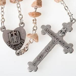 Rosario granos pietra rosa Virgen Medjugorje s2