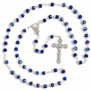 Rosari vetro: Rosario vetro blu