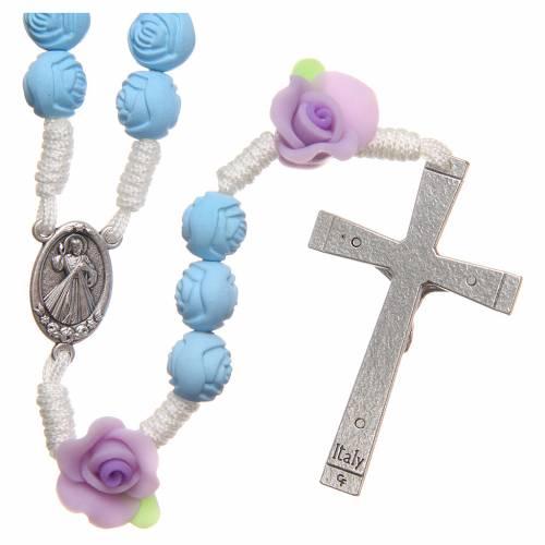 Rosario Medjugorje roselline azzurre s2