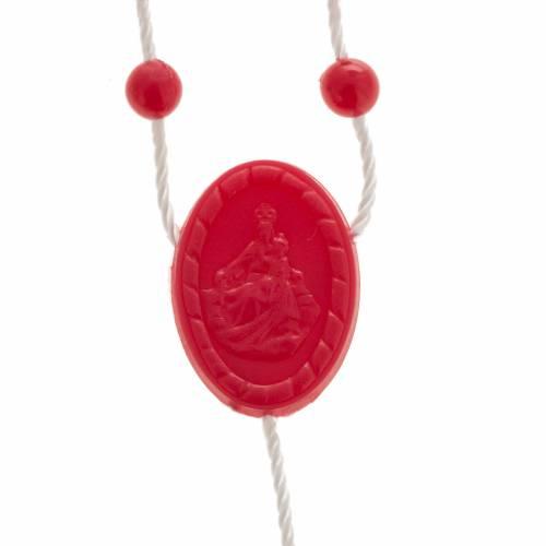 Rosario nylon rosso s2