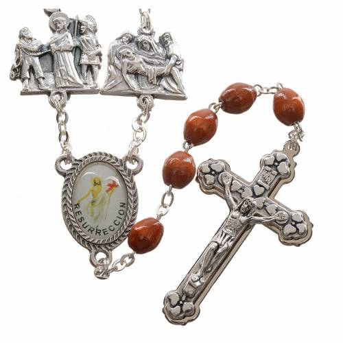 Rosary beads, stations of the cross s1