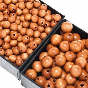 Eigenbau Rosenkränze: Rosenkranz Perlen aus Holz