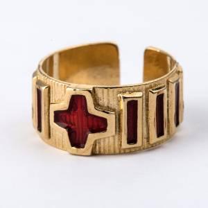 Gebetsringe: Rosenkranz Ring Silber und Lackier