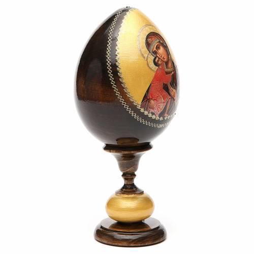 Russian Egg Feodorovskaya découpage, Fabergè style 20cm s4