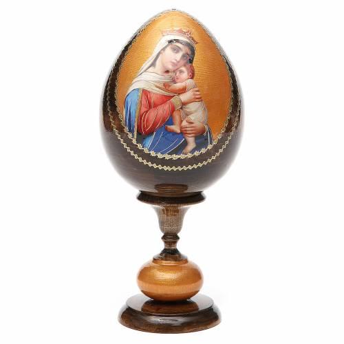 Russian Egg Hope to desperates découpage 20cm s1