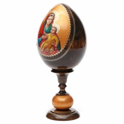 Russian Egg Kozelshanskaya découpage 20cm s2