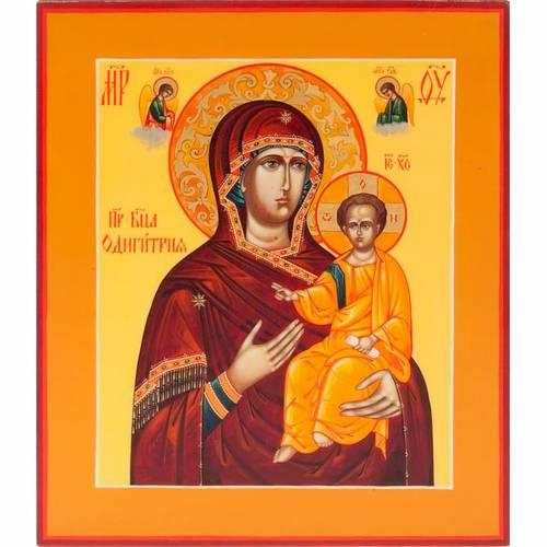Russian icon Odighitra Vreko Fratusa 22x27cm s1