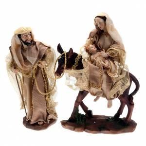 Fuga in Egitto Sacra Famiglia 30 cm s1