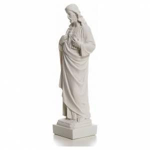 Sacro Cuore Gesù in polvere di marmo s6