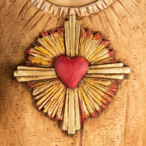 Sagrado Corazón de Jesús 100 cm. resina Fontanini s2