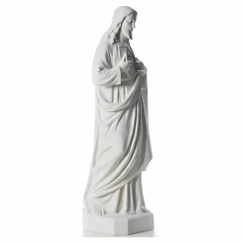 Sagrado Corazón de Jesús 130 cm  polvo de má s4