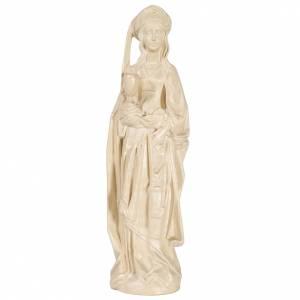 Saint Barbara in waxed Valgardena wood, 27cm s1