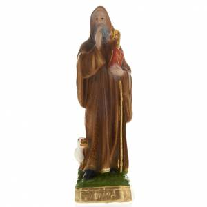 Saint Benedict plaster statue, 20 cm s1