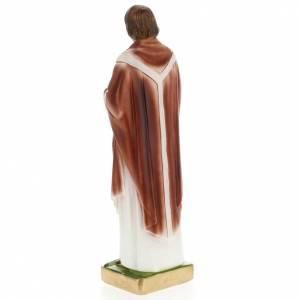 Saint Edmund statue in plaster, 30 cm s3