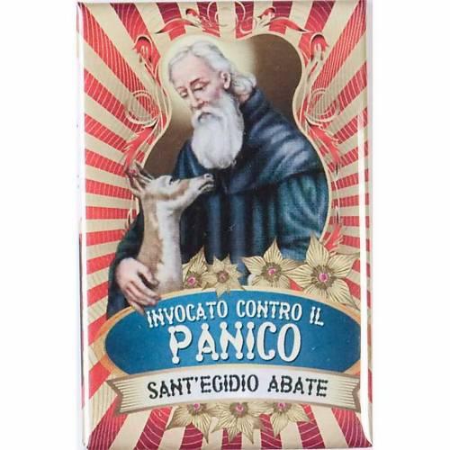 Saint Egidio badge, lux s1