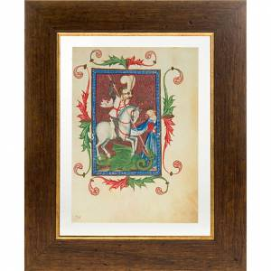 Saint George illuminated manuscript s1