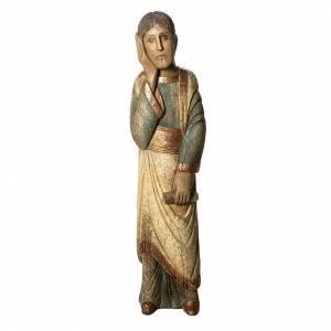 Saint Jean de Batloo 78 cm bois ancien Bethléem s1