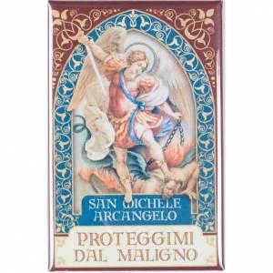 Saint Michael the Archangel badge, gold s1