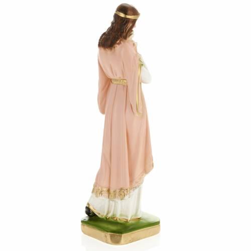 Saint Philomena statue in plaster, 30 cm s4