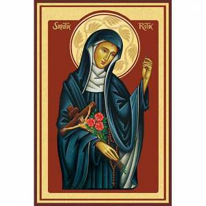 Holy cards: Saint Rita Holy Card