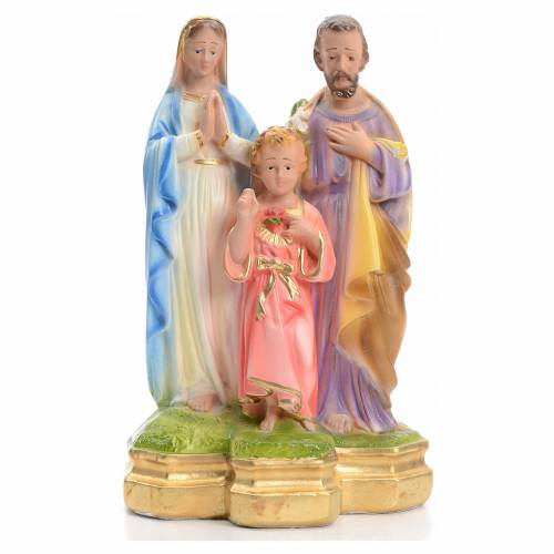 Sainte Famille en plâtre 20 cm s1