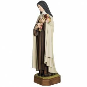 Sainte Thérèse de Lisieux 80 cm fibre de verre s6