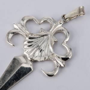 Santiago de Compostela Cross in shiny silver 800 s2