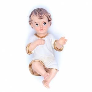Statues Enfant Jésus: Santon Enfant Jésus 6,5 cm résine