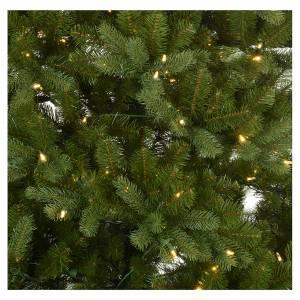 Sapins de Noël: Sapin de Noël 225 cm vert Poly memory shape éclairage Bleutooth