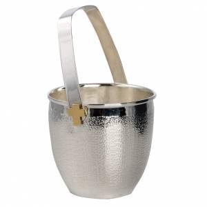 accessoires pour bénédictions: Seau à eau bénite mod. Saint Anselmo