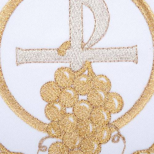 Servizio da messa 4pz. simboli croce P uva spighe s3
