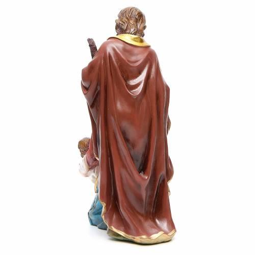 Set Nativité 30 cm en résine s3