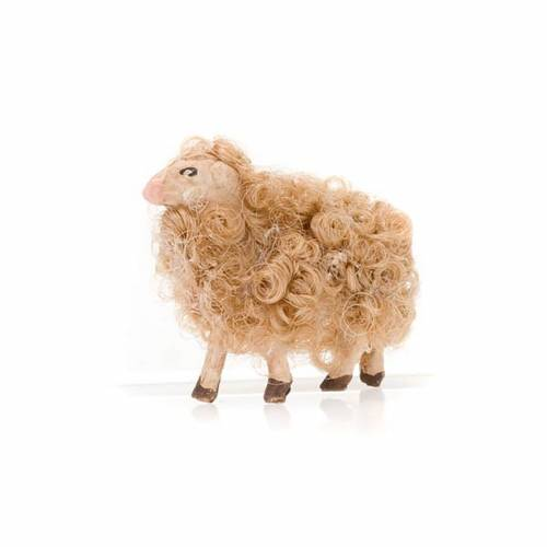 Sheep head high 8 cm nativity set s2