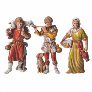 Shepherds 6 figurines 8cm, Moranduzzo s2