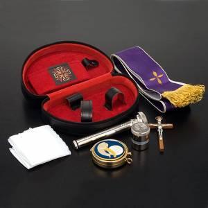 Travel Mass kits: Sick call set leatherette case