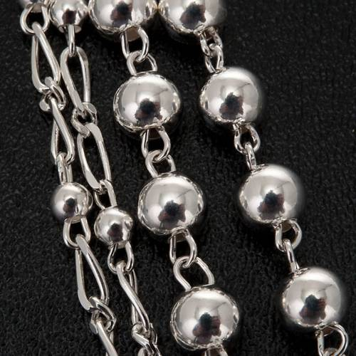 Silver 925 rosary 6 or 3 mm beads s2