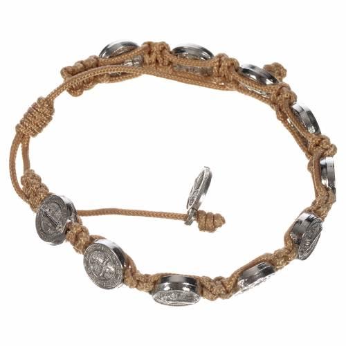 Single-decade Saint Benedict bracelet s3