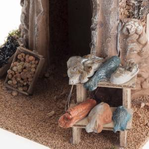 Settings, houses, workshops, wells: Small fish store for nativities