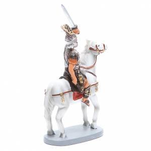 Soldat à cheval 10 cm crèche gamme Martino Landi s3