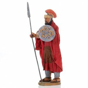 Soldat avec lance crèche 14 cm s2