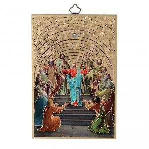 Stampa su legno Pentecoste s1
