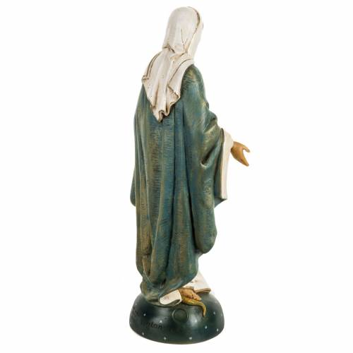 Statua Madonna Immacolata 50 cm resina Fontanini s5