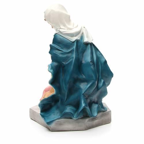 Statua Madonna per presepe 65 cm s3