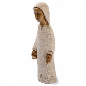 Statue in pietra: Maria dell'Annunciazione