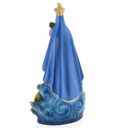 Statua Nuestra Señora del Cobre 30 cm gesso s4