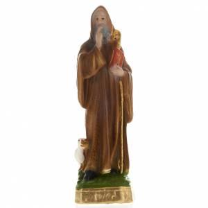 Statue in gesso: Statua San Benedetto gesso 20 cm