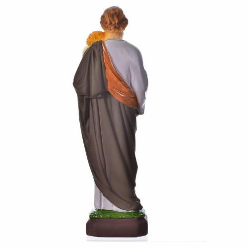 Statua San Giuseppe 30 cm materiale infrangibile s2